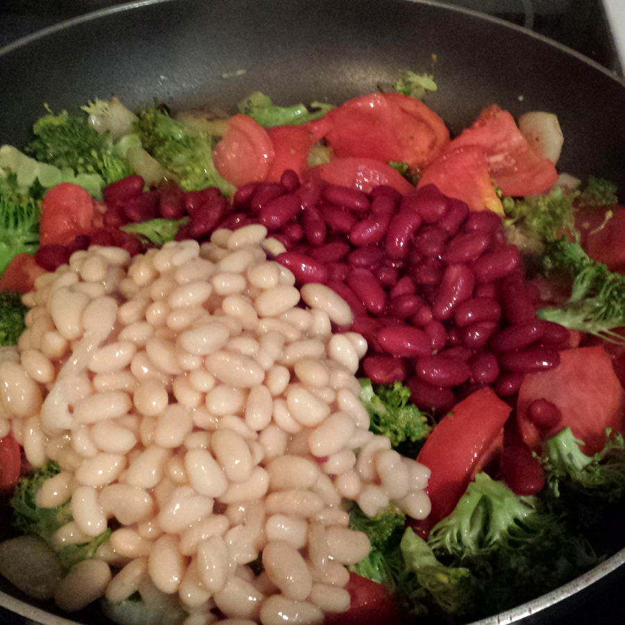 20161009 Chili 2 - Add Kidney and White Beans